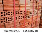 Clay Brick Stored For Building...