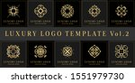 luxury logo bundle 10 in 1 for... | Shutterstock .eps vector #1551979730