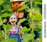 Garden  Scarecrow And Happy...