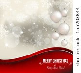 christmas card | Shutterstock .eps vector #155203844