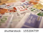 savings coupons  tilt to get... | Shutterstock . vector #155204759