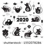 happy chinese new year design....   Shutterstock .eps vector #1552078286