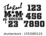 the real moms of soccer vector... | Shutterstock .eps vector #1552085123