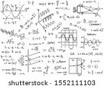 vector set of mathematical...   Shutterstock .eps vector #1552111103