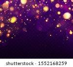 festive purple and golden... | Shutterstock .eps vector #1552168259