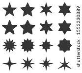 Big Set Of Stars   Vector....