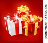 gifts. vector   Shutterstock .eps vector #155223428