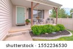 panorama frame front porch of... | Shutterstock . vector #1552236530