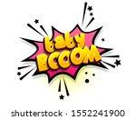 Baby Boom Isometric Comics Text ...