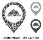 meal marker mosaic of bumpy... | Shutterstock .eps vector #1552334906