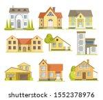 houses  residential buildings... | Shutterstock .eps vector #1552378976