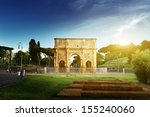 Arch Of Constantine  Rome  Italy