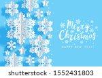 christmas horizontal greeting... | Shutterstock .eps vector #1552431803