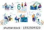 family psychologist work trendy ... | Shutterstock .eps vector #1552509323
