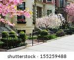 spring in back bay | Shutterstock . vector #155259488