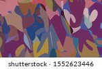 geometric design. colorful... | Shutterstock .eps vector #1552623446