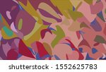 geometric design. colorful... | Shutterstock .eps vector #1552625783