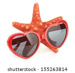 sea star and sungasses | Shutterstock . vector #155263814