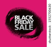 black friday sale poster layout ... | Shutterstock .eps vector #1552700630