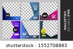 sale template collection for... | Shutterstock .eps vector #1552708883