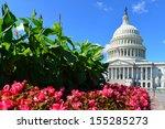 Stock photo washington dc us capitol building united states 155285273