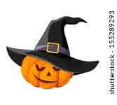 jack o lantern. halloween... | Shutterstock .eps vector #155289293