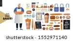 bakery  small business... | Shutterstock .eps vector #1552971140