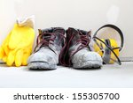 renovation at home.... | Shutterstock . vector #155305700