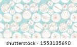 modern christmas baubles... | Shutterstock .eps vector #1553135690