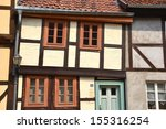 half timbered house in the old... | Shutterstock . vector #155316254