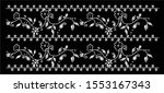 vintage embroidery oriental... | Shutterstock .eps vector #1553167343