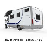camper van isolated | Shutterstock . vector #155317418