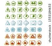 logos 100  natural  fresh...   Shutterstock .eps vector #1553184653