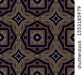 seamless art deco pattern.... | Shutterstock .eps vector #1553185979