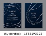 modern geometric luxury card...   Shutterstock .eps vector #1553193323