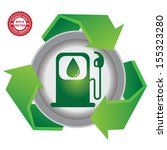 recycle  save the earth or stop ... | Shutterstock .eps vector #155323280