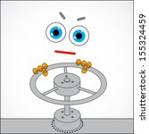 vector abstract illustration  ...   Shutterstock .eps vector #155324459