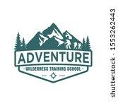 mountain logo outdoor emblem...   Shutterstock .eps vector #1553262443