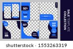 sale template collection for... | Shutterstock .eps vector #1553263319