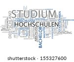 word cloud   studies | Shutterstock . vector #155327600
