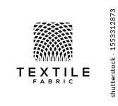 textile fabric yarn reel tailor ...   Shutterstock .eps vector #1553312873