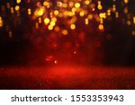 Background Of Abstract Red And...
