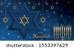 Happy Hanukkah Card With Nice...