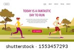 web page design template for... | Shutterstock .eps vector #1553457293