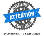 attention grunge stamp with... | Shutterstock .eps vector #1553589806