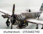 Plastic Model Ww2 Plane On...