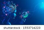 artificial intelligence in...   Shutterstock . vector #1553716223