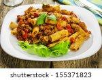 Tortiglioni With Sauce...