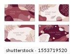 abstract seasonal backgrounds... | Shutterstock .eps vector #1553719520