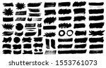 brush strokes. vector... | Shutterstock .eps vector #1553761073